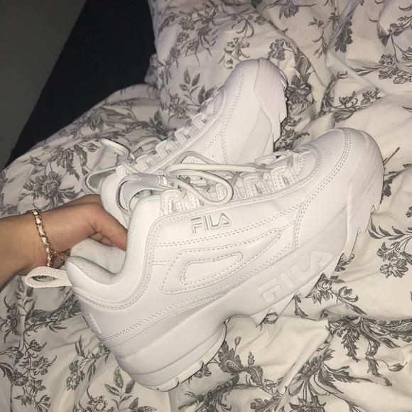 Fila Disruptor Poshmark 2 White Shoes Fr8qF
